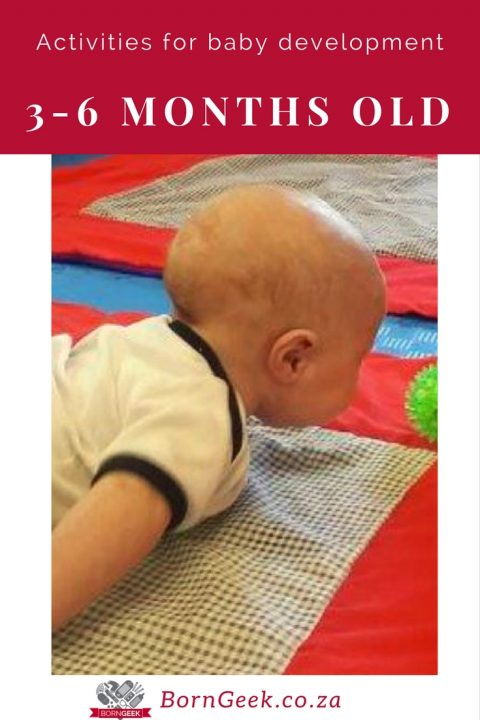Activities for baby development - 3-6 months old