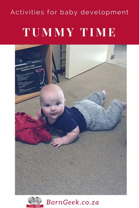 What is Tummy Time and how we keep it interesting