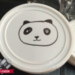 panda themed birthday party pack lid